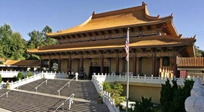 Templo Hsi Lai en Los Angeles