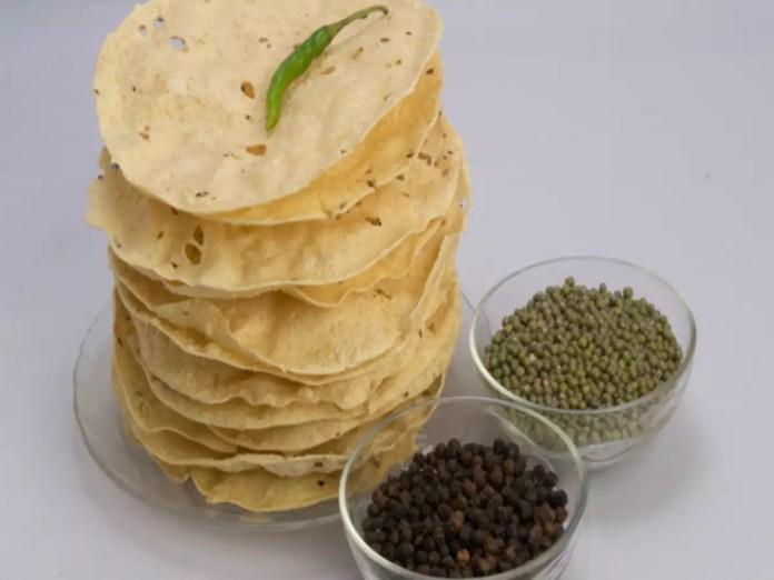 papad comida india
