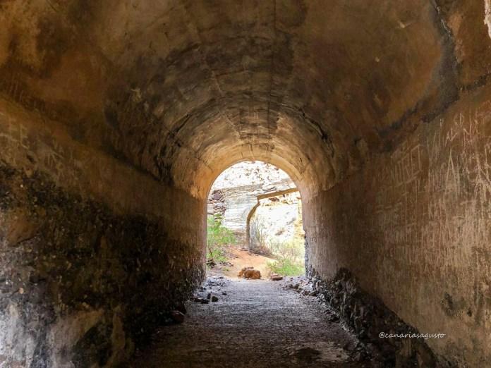 tunel barranco de vacas