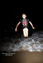 Baños en la noche de San Juan en la playa de Las Canteras
