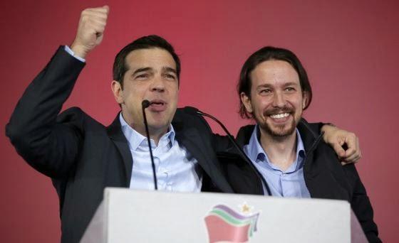 Podemos e IU salen al rescate de Tsipras (2/3)