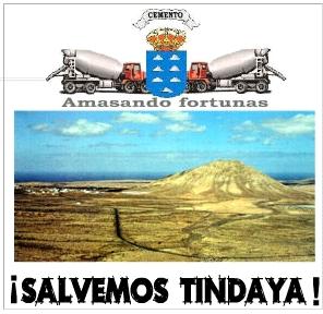 Y el gobierno avanza en la destrucción de Tindaya