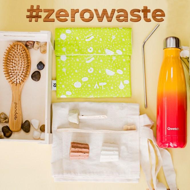 Productos Zero Waste que generan residuo cero
