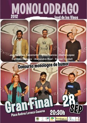 Finalistas del Concurso Monolodrago