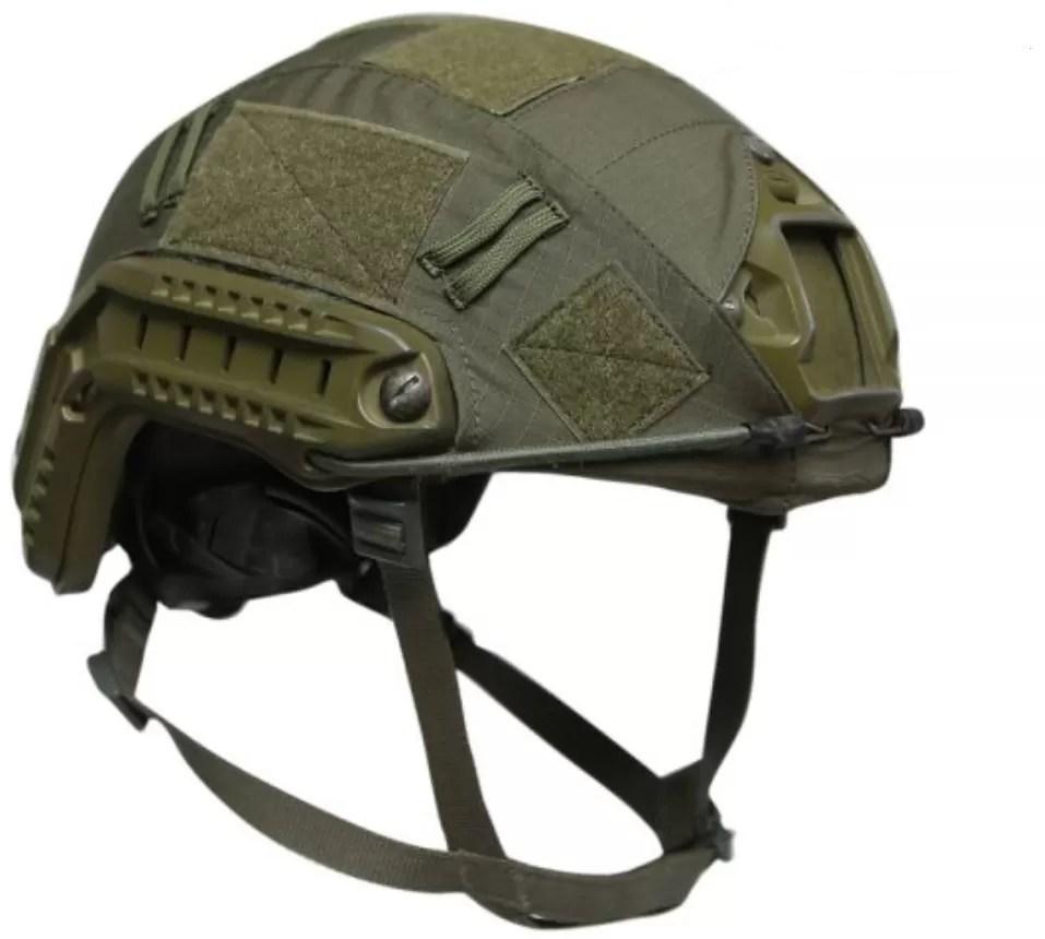 Canarmor FAST green ballistic helmet