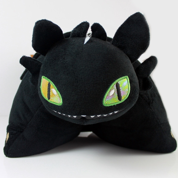 how to train your dragon night fury toothless pillow pets soft plush wish