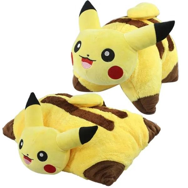16 5 x 13 decorative pillow pet cushion pokemon pikachu plush toy wish