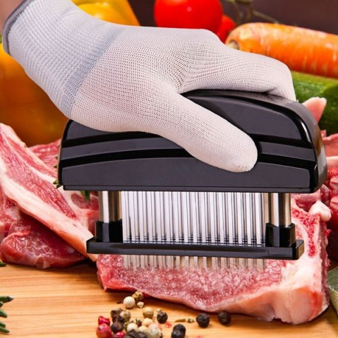 Professional Meat Tenderizer Needle Stainless Steel Meat Tenderizer with 48  Blades Kitchen Cooking Tools Accessories ZHH1785/e1 | Wish