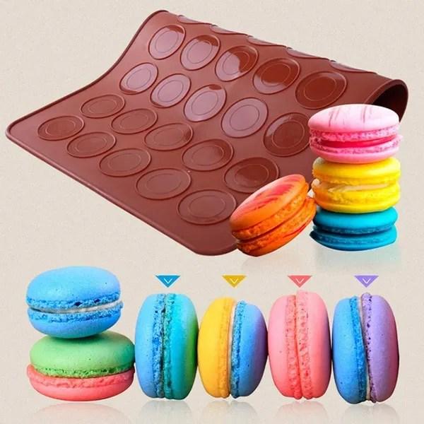 30 cavite silicone macaron patisserie plaque de four mat moule cake cafe new wish