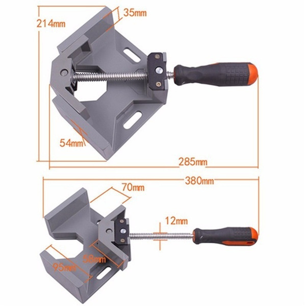 cornerdrywalltool, rightangleclip, Metal, 90degreecornerclamp