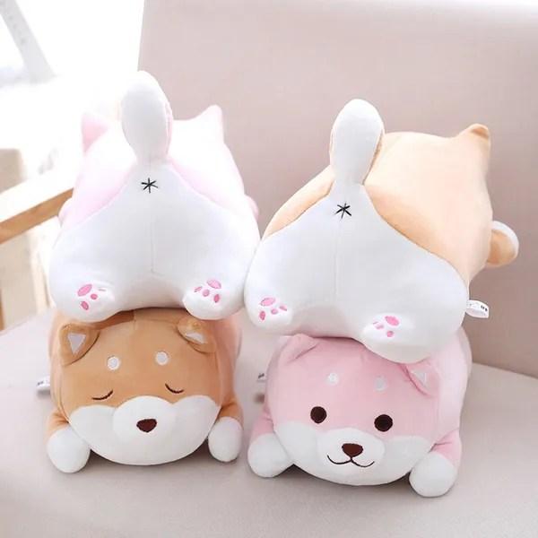 creative fat shiba inu dog pillow plush toy net red dog butt pillow plush toy home decoration children s toys wish
