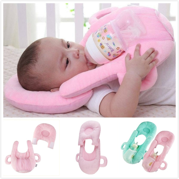 baby feeding bottle holder multi function washable baby pillow learning toys for 0 24 months wish