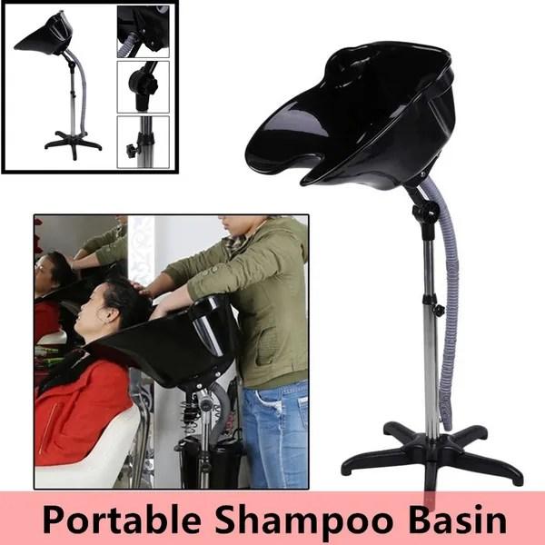 portable hair salon wash hairdressing hair wash sink shampoo basin backwashing wish