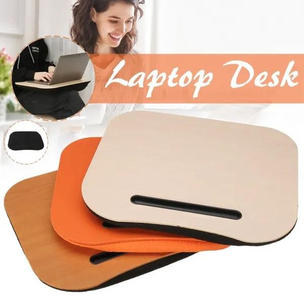 multifunction portable laptop table knee lap desk pillow cushion phone computer office home size 40x34x5cm wish