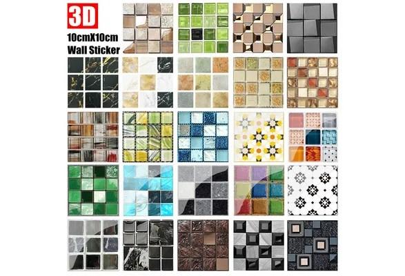 wall stickers kitchen mosaic tile art