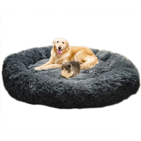 deluxe fluffy extra large dog beds sofa washable round dog pillow cushion pet bed for large extra large dog wish