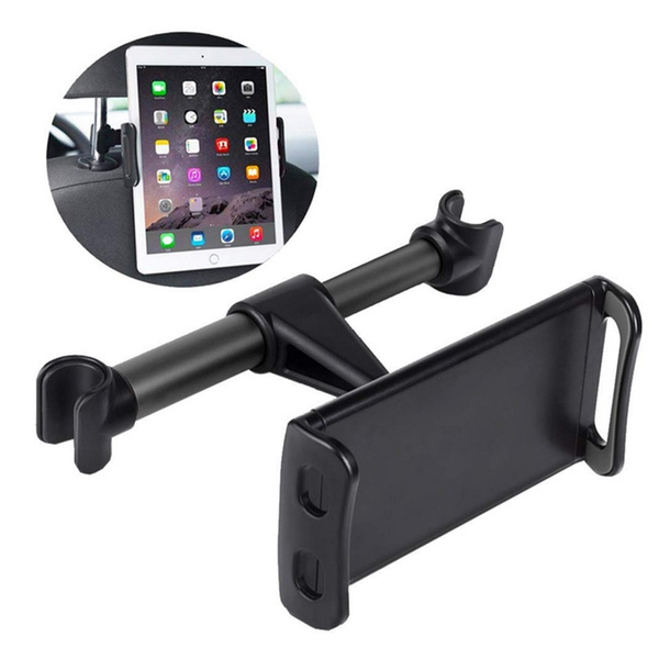 universal stand bracket back seat car mount 360 rotation car rear pillow tablet holder stand for phone pad wish