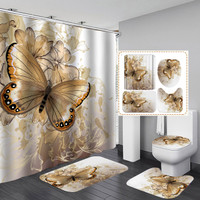 butterfly shower curtain wish
