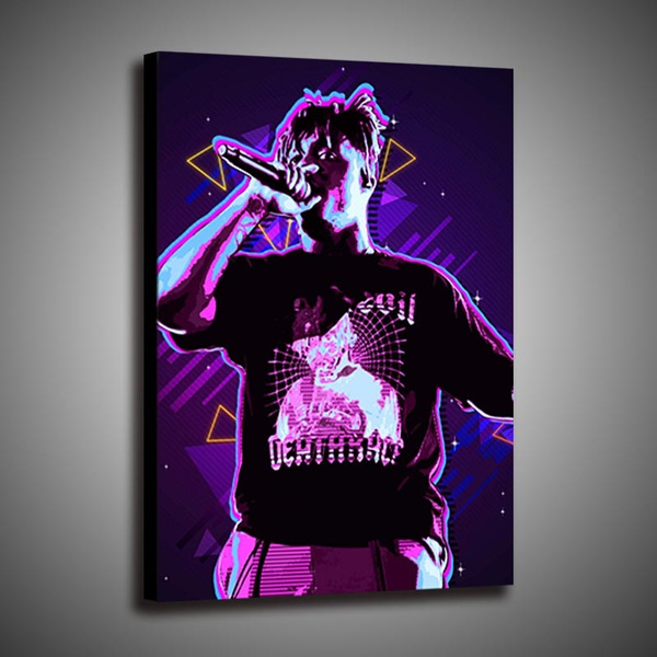 juice wrld poster print painting home decoration wall art poster 1p wish