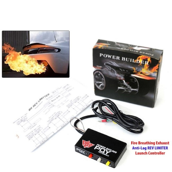 exhaust flame thrower kit racing car ignition rev limiter launch control wish