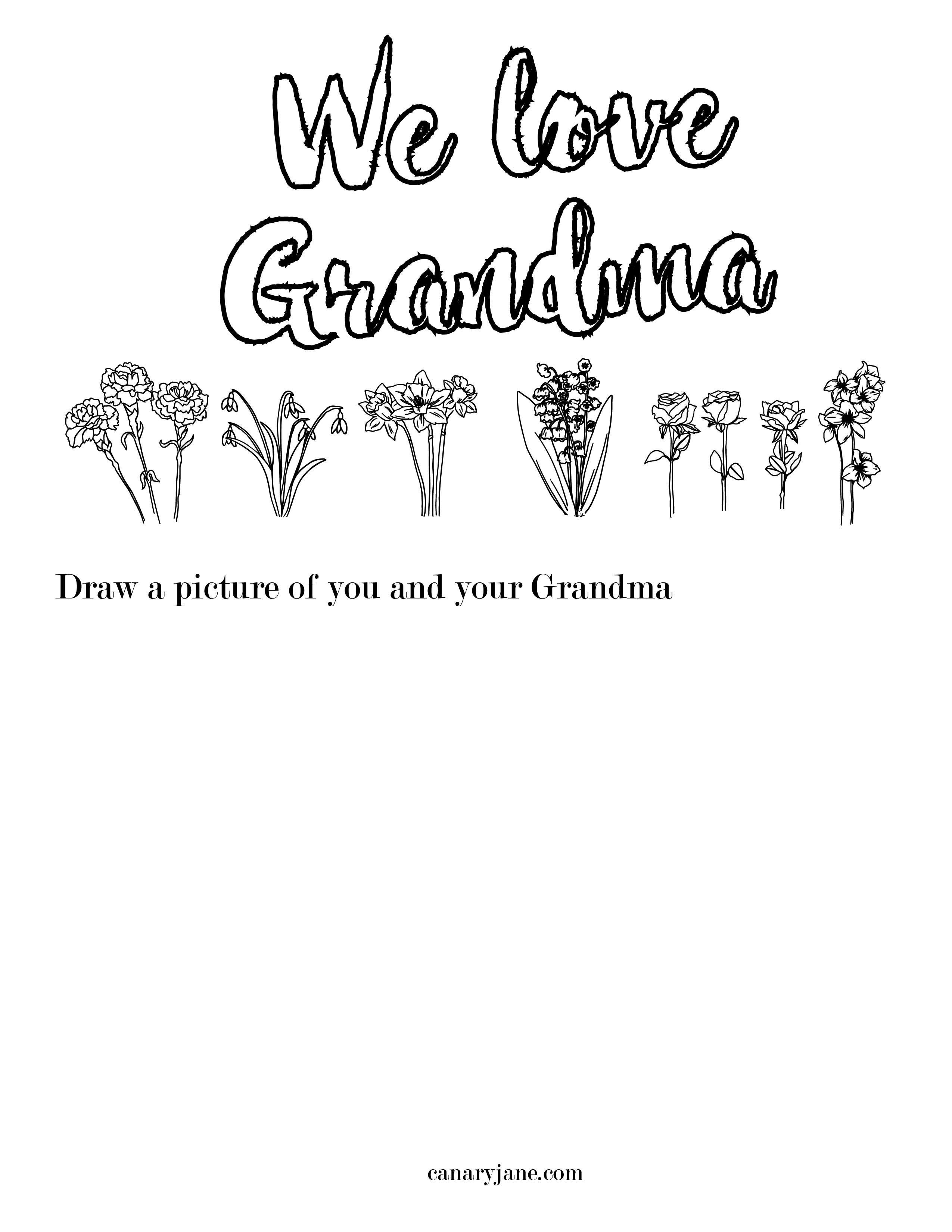 Grandma Worksheet