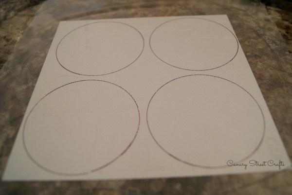 Mason Jar Paper Drink Toppers - canarystreetcrafts.com