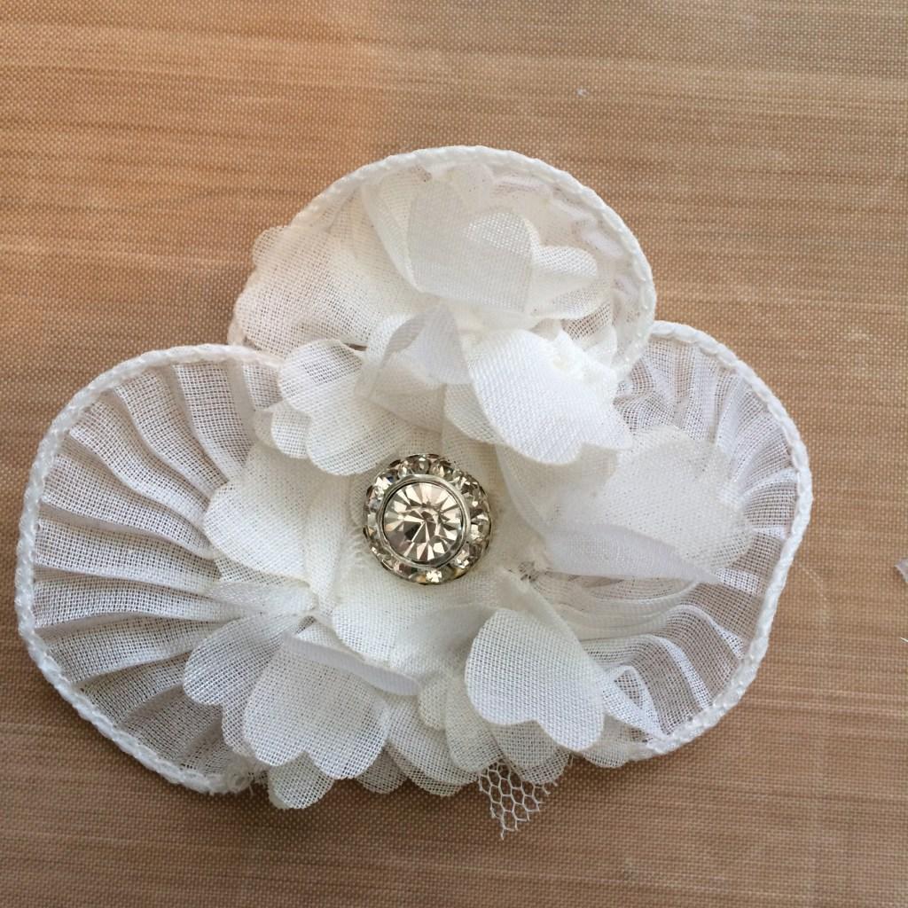 Flower Embellishment  canarystreetcrafts.com