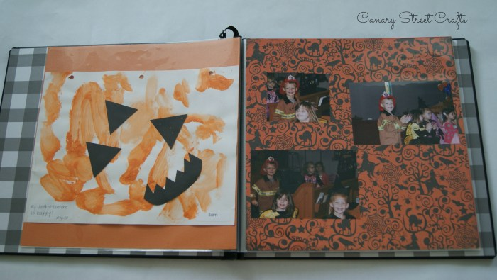 The easiest way to make a memory book for your child! -canarystreetcrafts.com