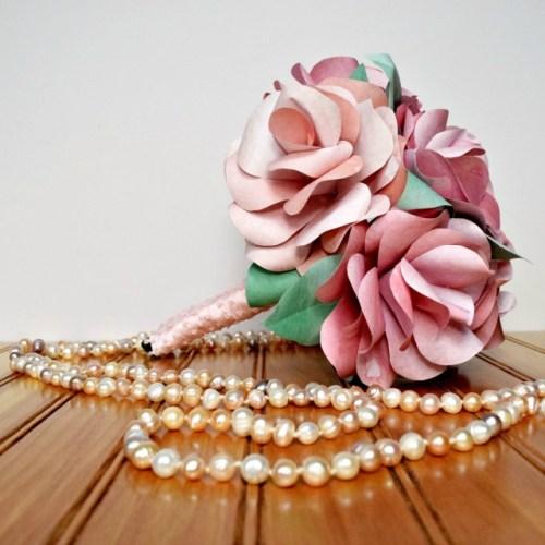 DIY-Paper-Flower-Bouquet-Tutorial from Ruffles & Rain Boots