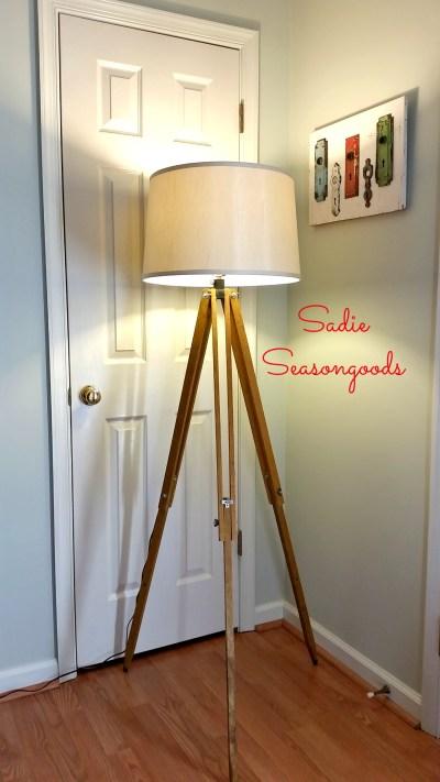 Vintage Tripod Lamp from Sadie Seasongoods