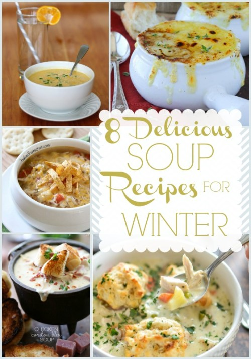 Winter Soup Recipes {Dreaming of Leaving}