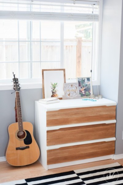 Balsa Wood Dresser {Dwell Beautiful}