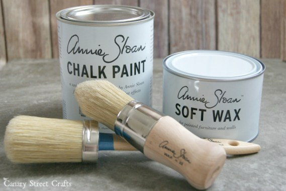 Annie Sloan Chalk Paint Tips {Canary Street Crafts}
