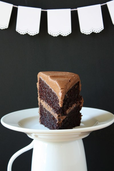 The Best Chocolate Cake Ever from {Lulu The Baker}