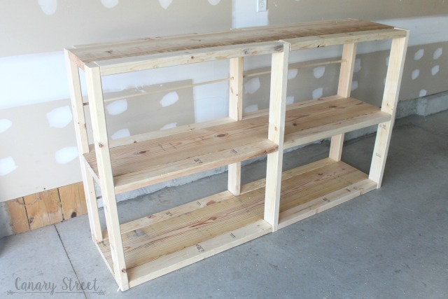Easy DIY Rustic Shelf. Build Your Own With Free Plans And Step By Step  Instructions