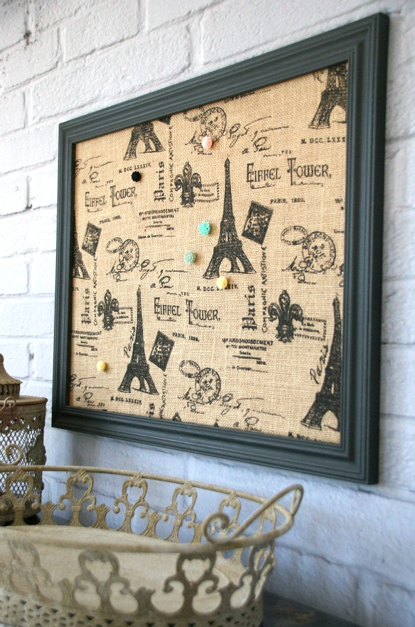 Easy Fabric Covered Bulletin Board Canary Street Crafts