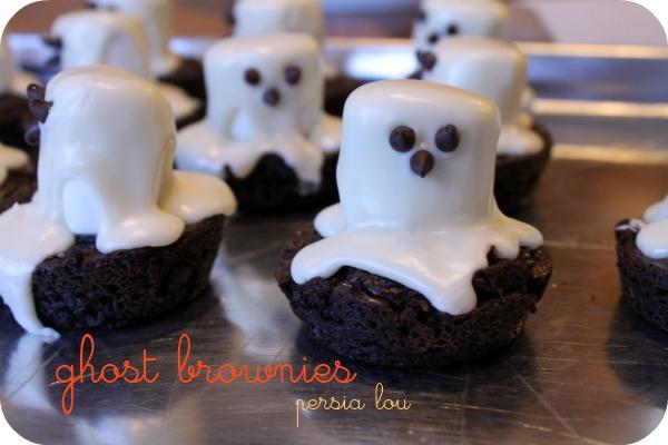 ghost brownies  -persialou.com