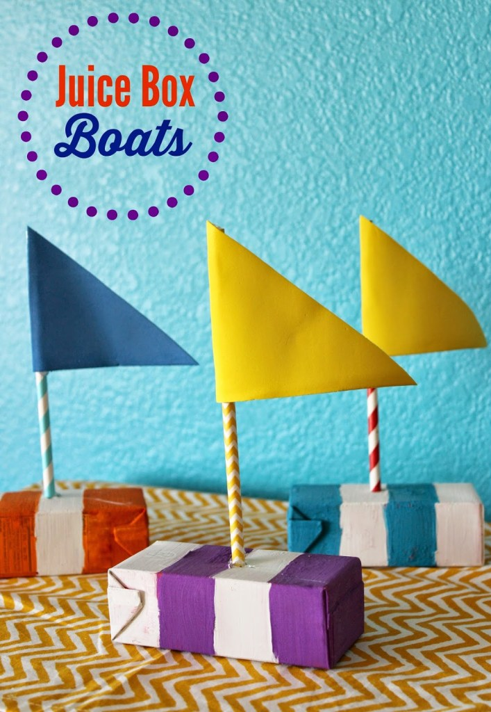 juice box boats from idigpinterest.com