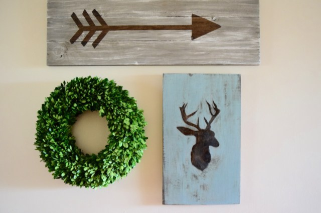 How to DIY trendy wall art from Karen's Up On The Hill