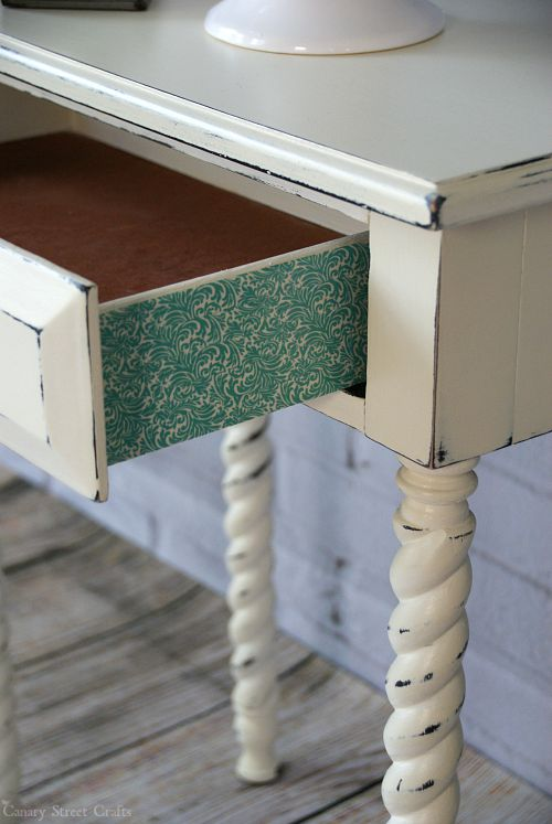 Charmant Adding Detail To Furniture With Washi Tape