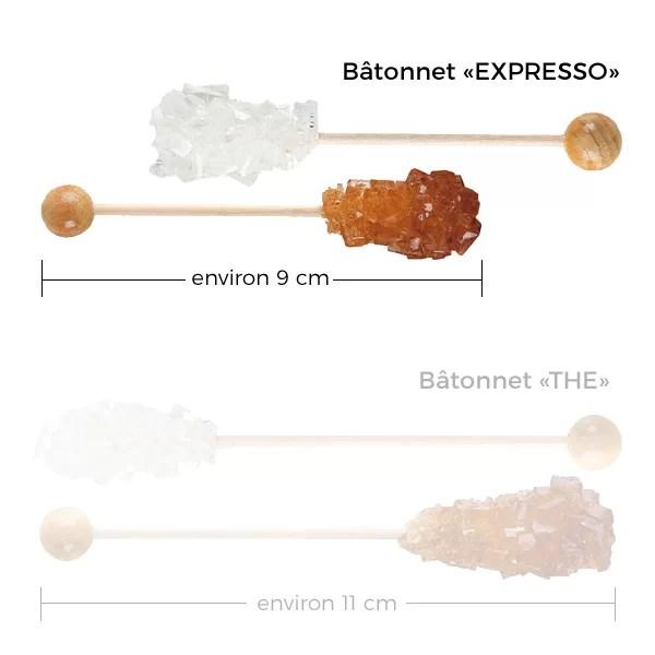 "10 bâtonnets ""expresso"""