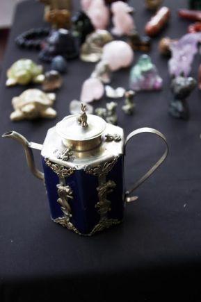 gemstone small rabbit teapot