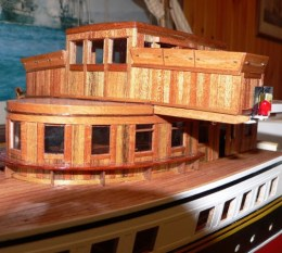 The scratch building of PS Waverley Part 1 by George Crossan