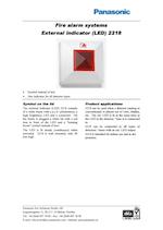 Panasonic 2218 Ext Indicator