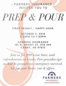 Prep & Pour @ Christina Gutierrez, Farmers Insurance