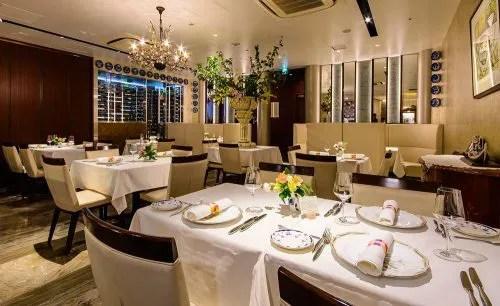 Restaurant LA KANCATOURの店内