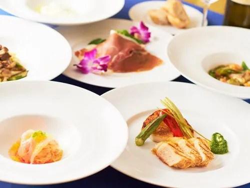 THE SCENE amami spa&resort、料理