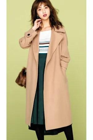 SHARE MORI COAT 01 華やかキレイ色コート