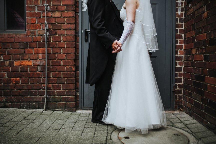 Erster Hochzeitstag, ja wir dürfen das