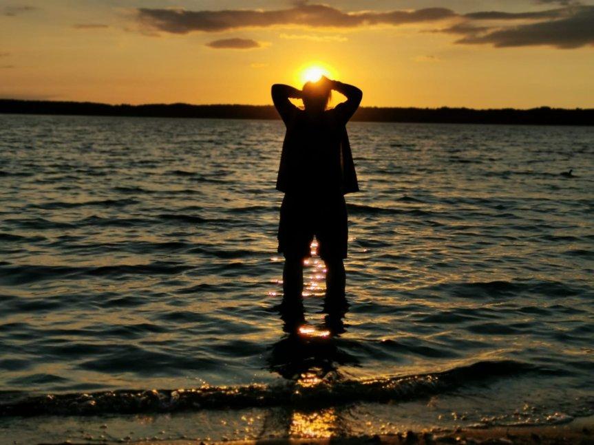 Von Blaubeeren, einem Maislabyrinth und dem Sonnenuntergang; unser Wochenende